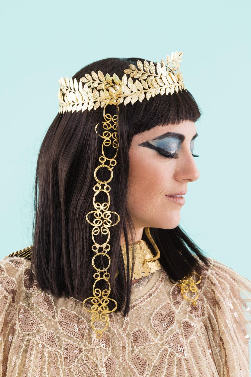 This JawDroppping Cleopatra DIY Is for You, Costume Queen