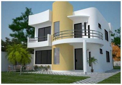 Fachadas De Casas Modernas Pequenas De Dos Pisos Planos De Casas Modernas Casas De Dos Pisos Fachadas De Casas Modernas