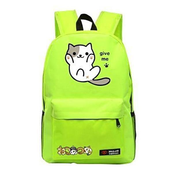 844454473ef0 Neko Atsume Anime Cat Backpack (18