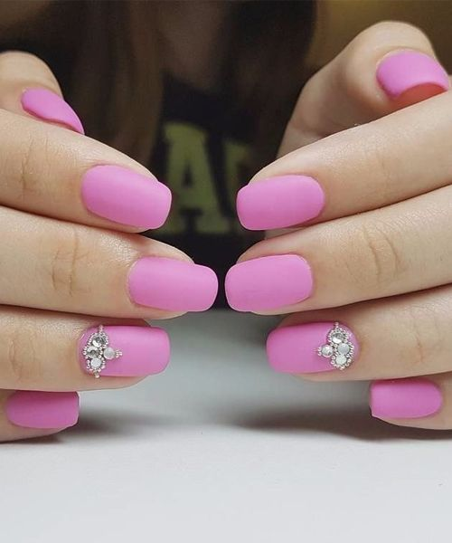 Adorable Charming Pink Nail Art For Spring Summer Pink Nails