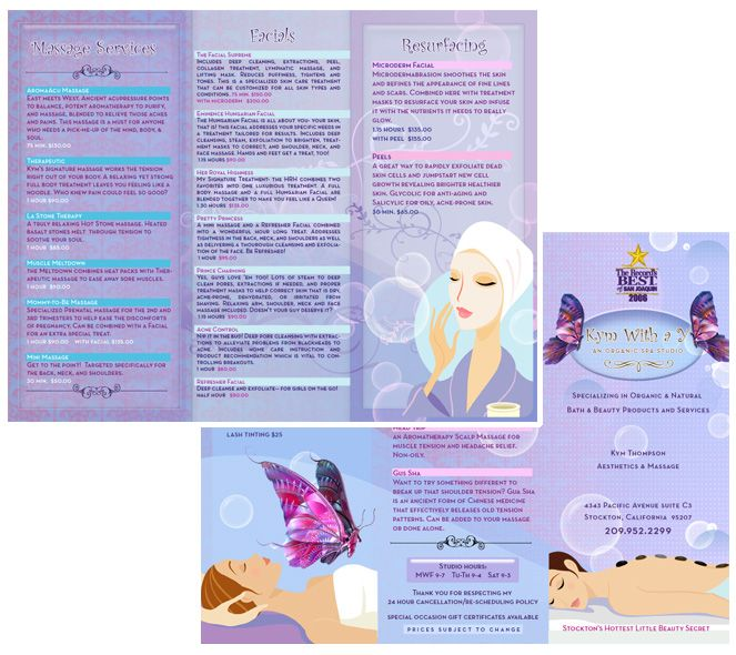 Spa Brochure Design  Spa    Brochures And Spa