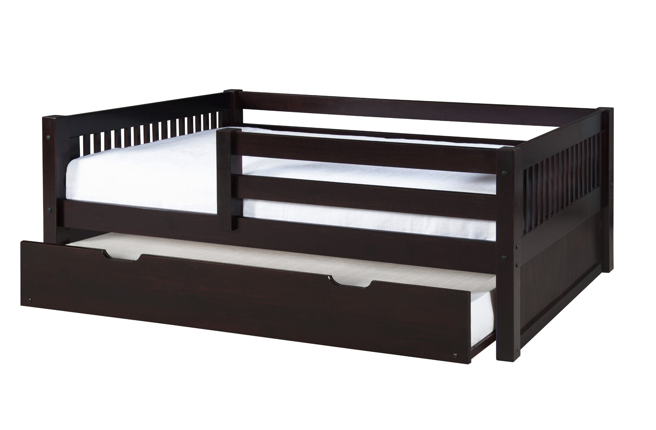 Camaflexi Mission Style Solid Wood Day Bed
