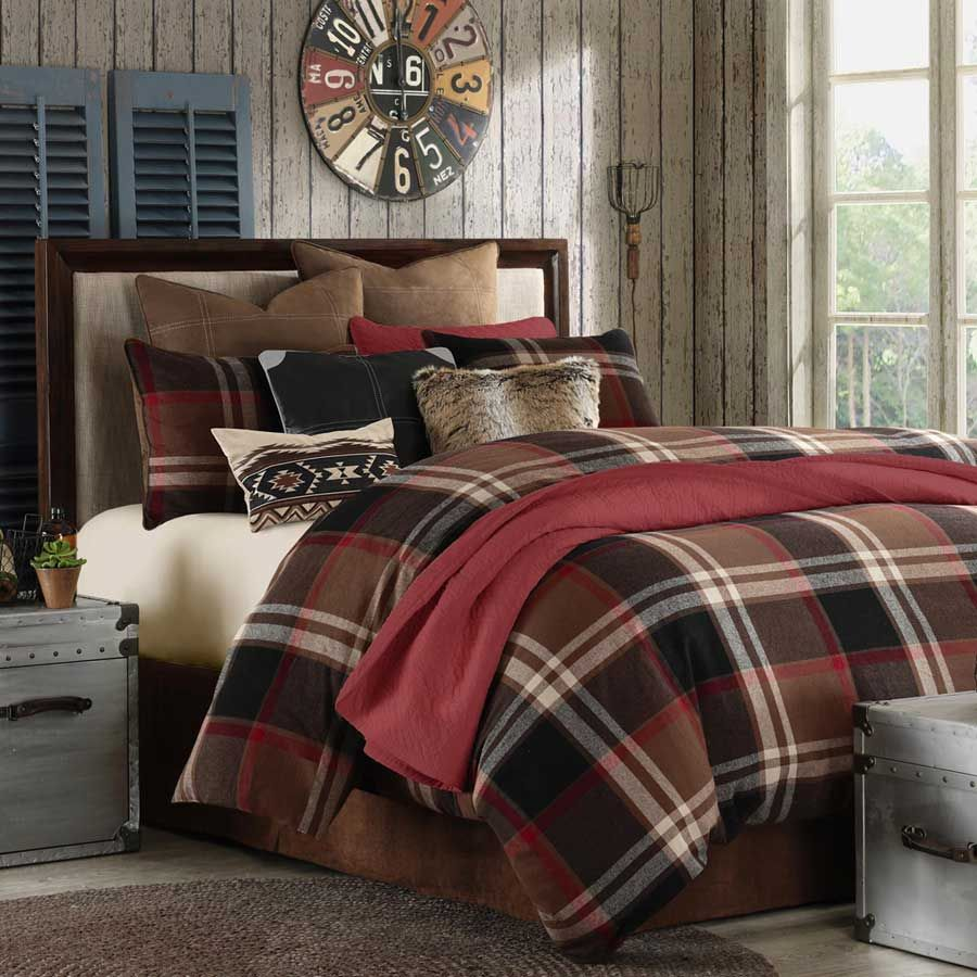 Cabin Bedroom Ideas: #Woolrich Grand Canyon Comforter Set This Luxurious