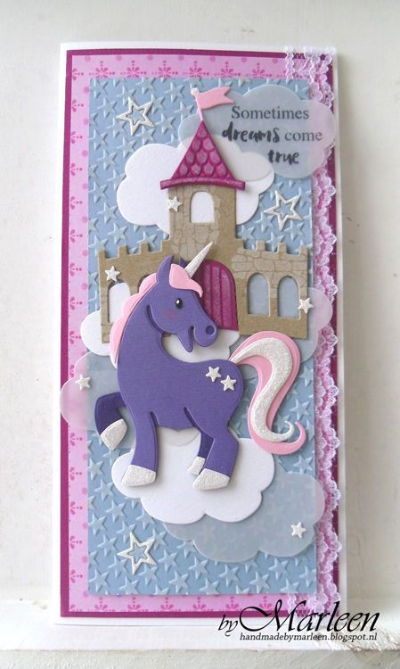 Marianne Design Collectables Eline S Horse Unicorn Craft Die