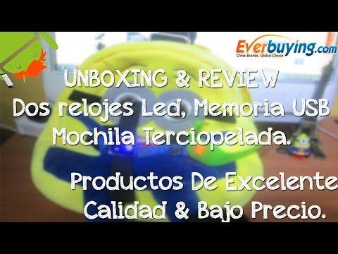 Everbuying.com   Unboxing & Review De Productos De Alta Calidad & Bajo Precio   Reloj's Led Guapos ♥ - http://www.nopasc.org/everbuying-com-unboxing-review-de-productos-de-alta-calidad-bajo-precio-relojs-led-guapos-%e2%99%a5/