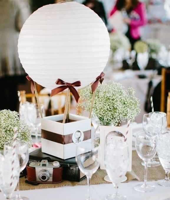 Matrimonio Tema Mongolfiera : Centrotavola mongolfiera cerca con google wedding