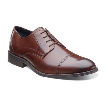 Explore Leather Cap, Dress Clothes, and more! Stacy Adams Men's Radford Cap  Toe Leather Modern Dress Oxford