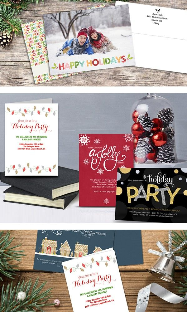 Create personalized holiday photo cards for family and friends at ...
