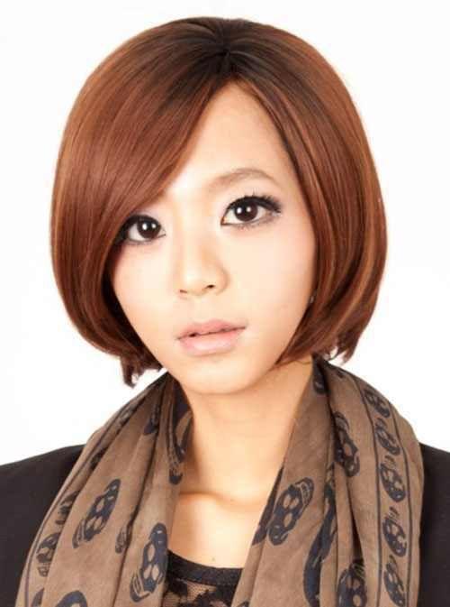 Pretty Korean Short Hairstyles 2016 2017 Bob Korean