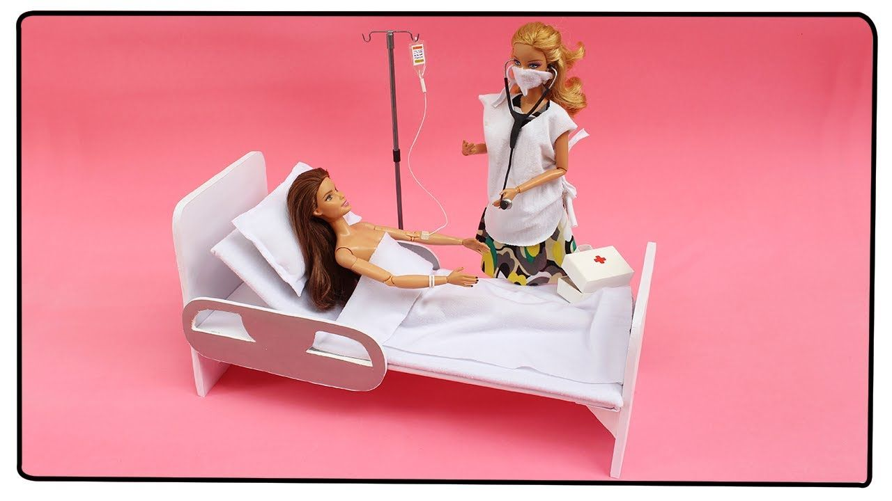 Hacer Para Las Una MuñecasMinis Cómo Cama De Hospital PZikuOX
