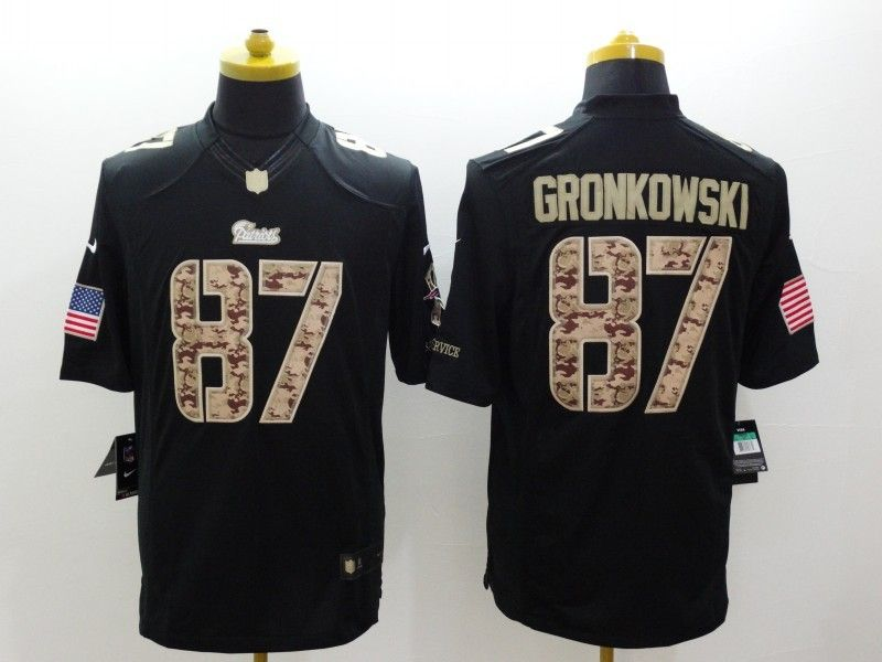 size 40 1caab 36b7a Cheap Wholesale Mens New England Patroits #87 Rob Gronkowski ...