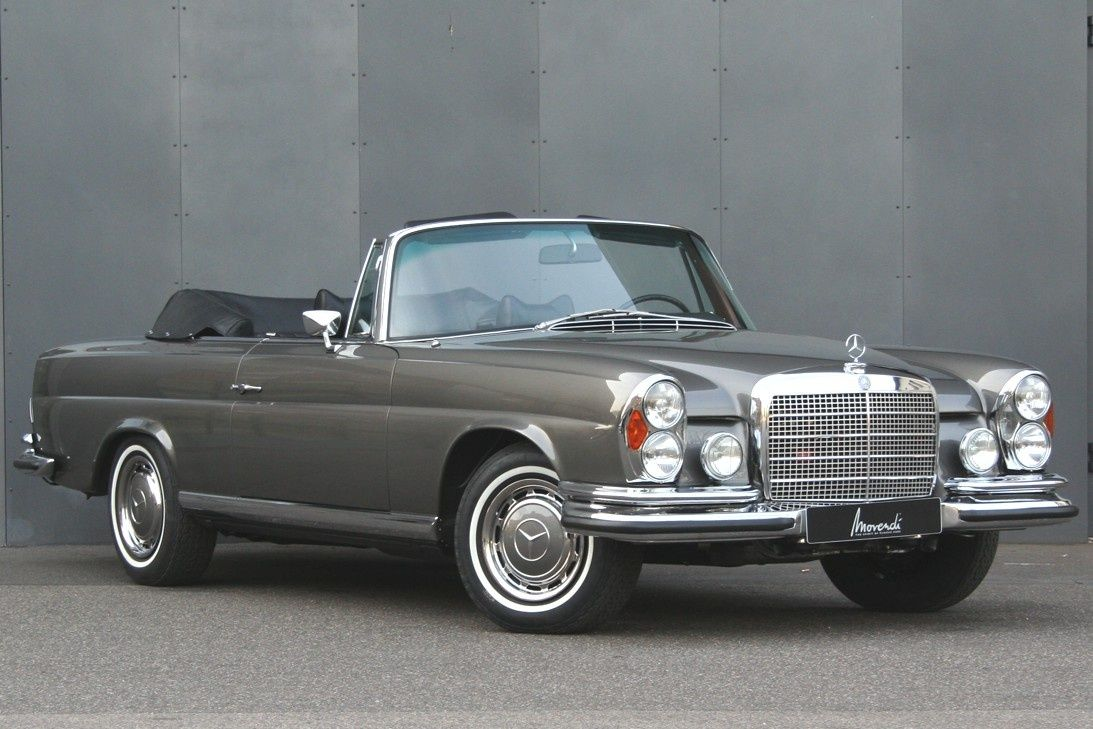 1971 mercedes benz w111 112 280 se 3 5 cabriolet. Black Bedroom Furniture Sets. Home Design Ideas