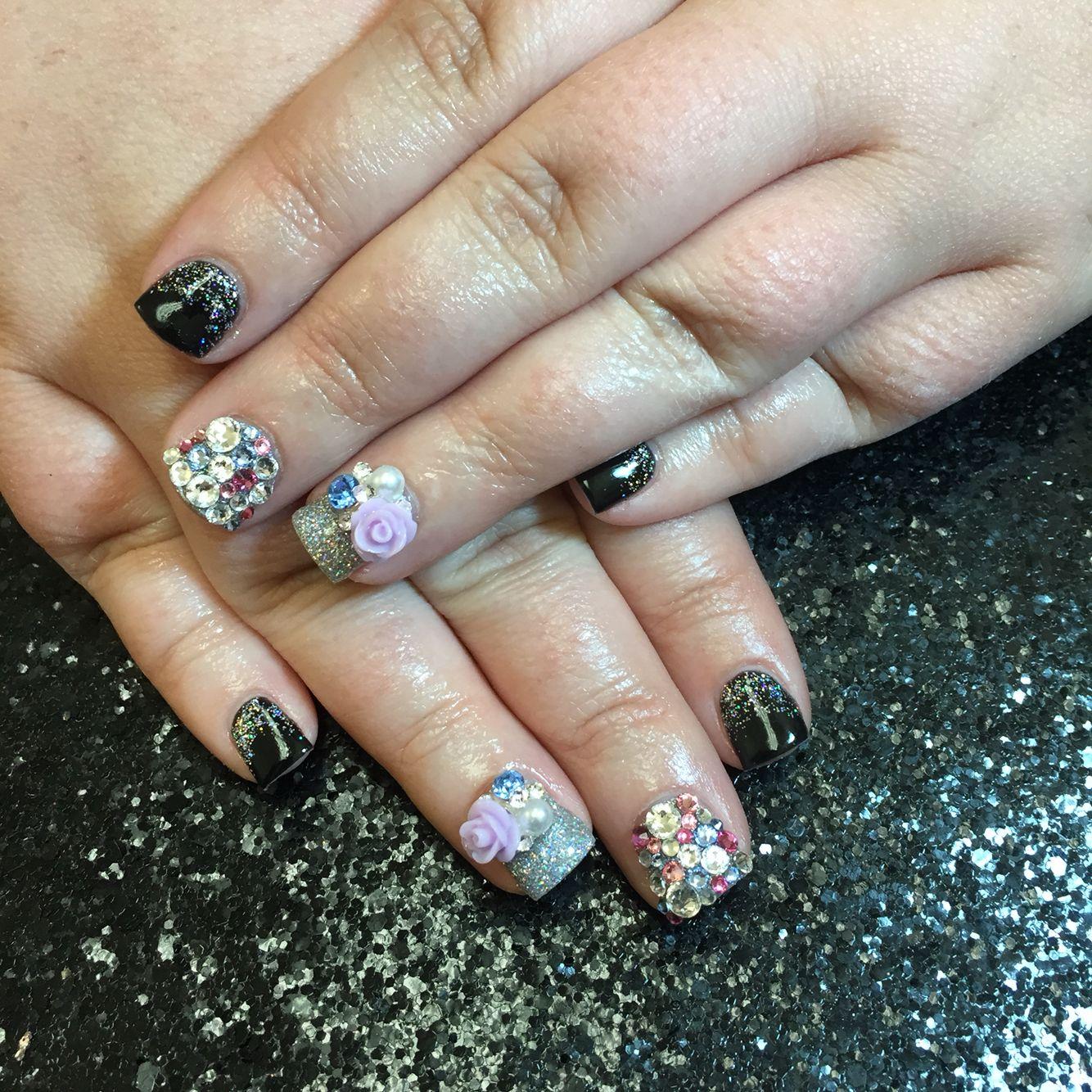 Hellokaylaranaenails Hkrn Nailenthusiast Genuineswarovski Lasvegasnails Lvnails Dopenailsofig Nailtechproble Las Vegas Nails Young Nails Nails Magazine