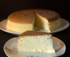 Pasteles de colores: Pastel de oro de queso (japones o chino)