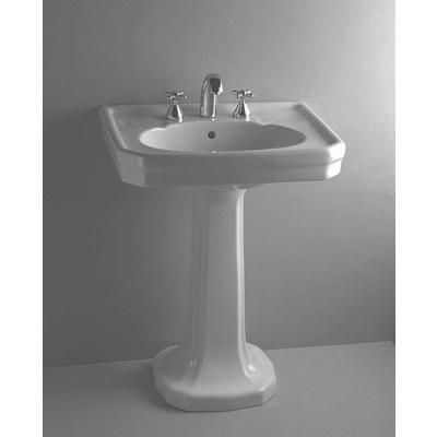 Merveilleux VITRA   Epoca By Vitra: Pedestal Lavatory Sink And Leg Set, 8 Inch Centres,  White   20 6054   Home Depot Canada
