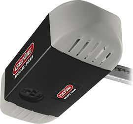 The Chain Drive 750 Garage Door Opener Features A Heavy Duty Chain 24 Volt Dc Motor And The Safety And Sec Garage Door Opener Garage Doors Genie Garage Door