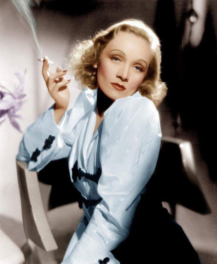 Marlene Dietrich Face Hollywood Makeup Classic Faces
