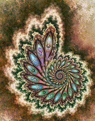 Для вдохновения - fractal art - фрактальное искусство (много фото) / Флудилка / Бусинка