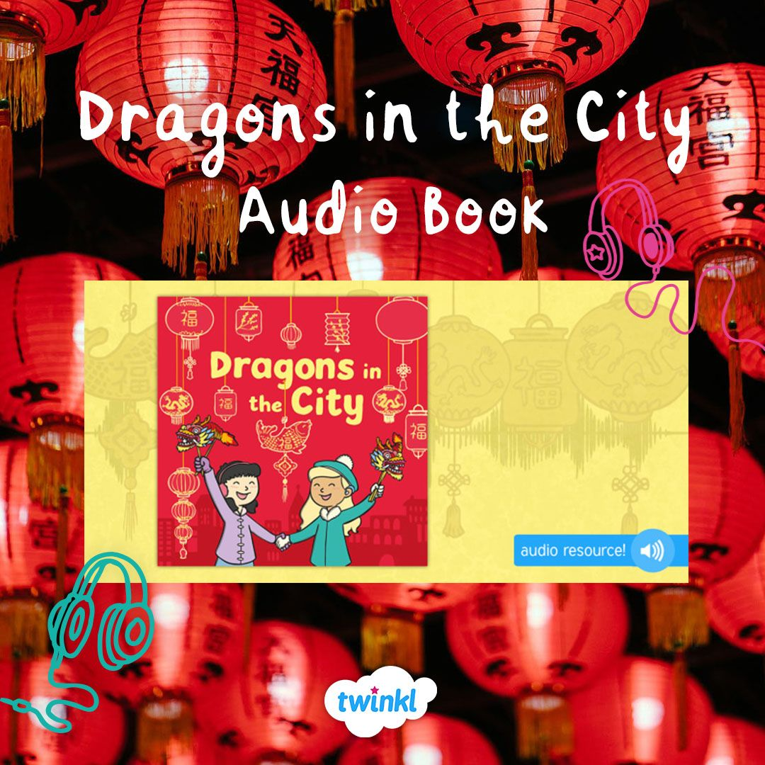 Dragons in the city is a chinese new year themed