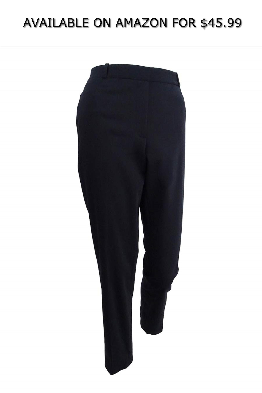 45 99 Tommy Hilfiger Women S Slim Leg Ankle Pants 10 Black Women Pants Casual Chino Pants Women Cargo Pants Women [ 3000 x 2000 Pixel ]