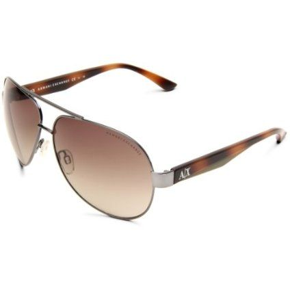 efd26757c2 Armani Exchange AX222 S Aviator Sunglasses