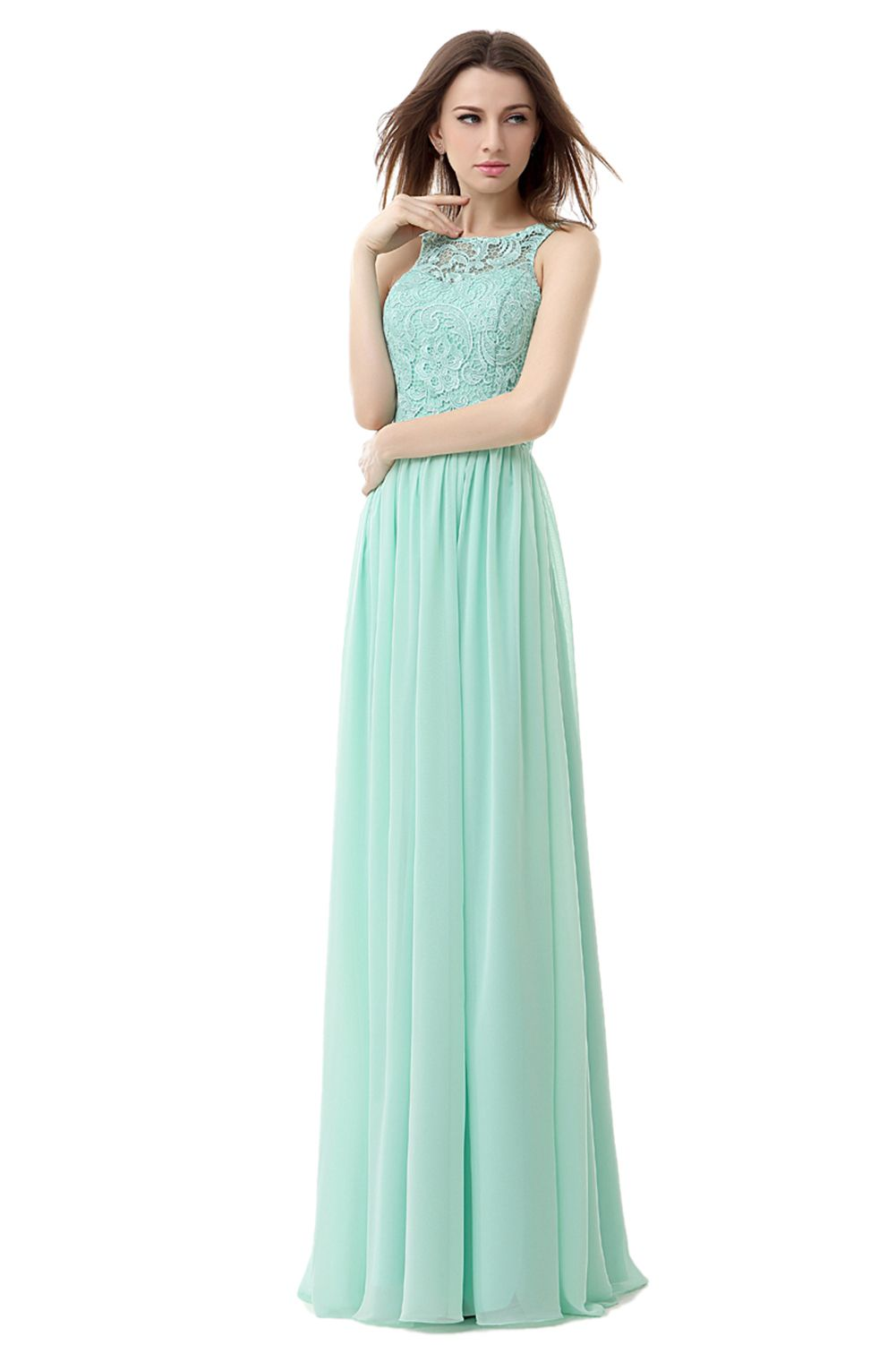 Luxury turquoise all over beaded mermaid sleeveless illusion boat ikerenwedding womens straps lace chiffon bridesmaid dress formal party gown ombrellifo Gallery