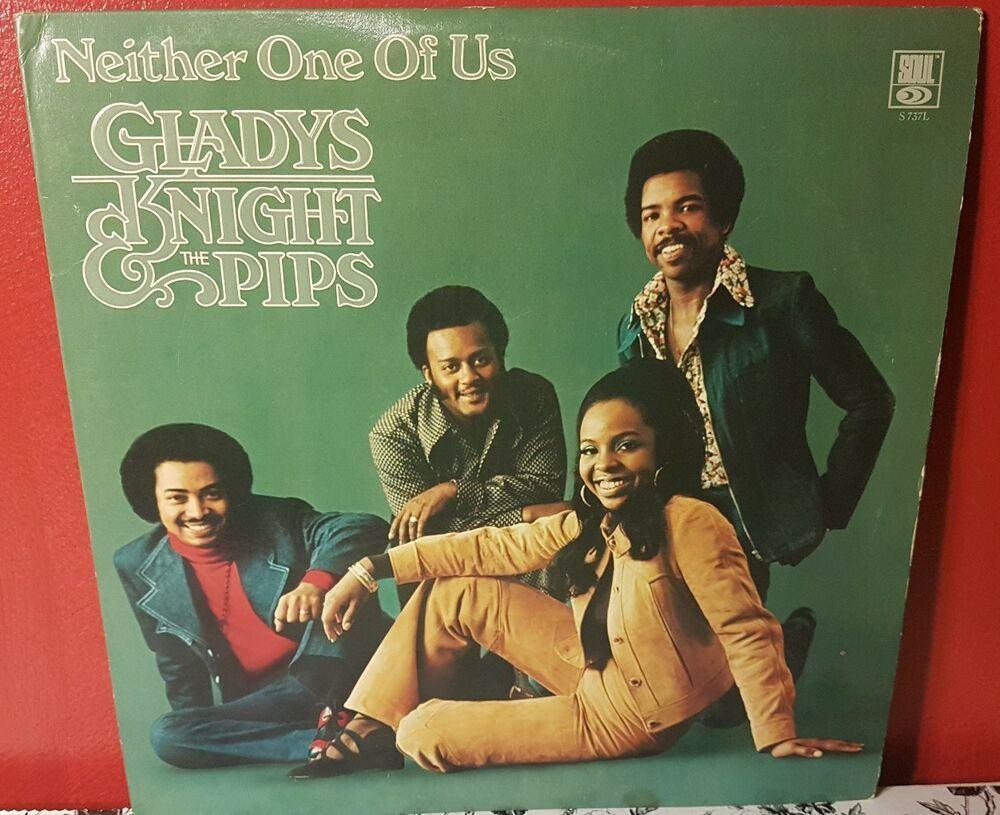 Gladys Knight The Pips Neither One Of Us Vinyl Record In 2020 Gladys Knight Vinyl Records Music Room