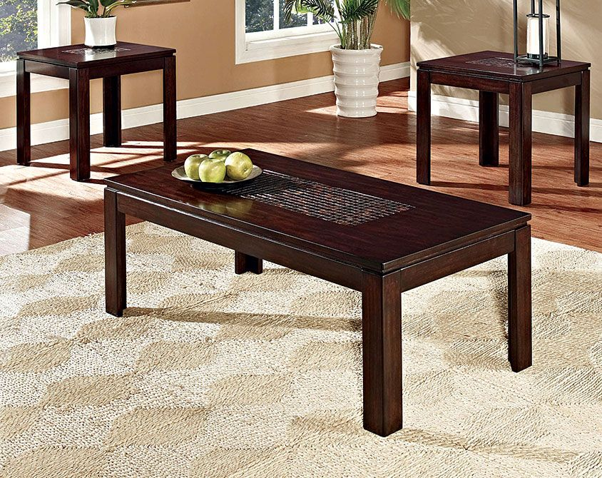 Sparkle 3 Piece Table Set American Freight 298 Standard Furniture Furniture Coffee Table