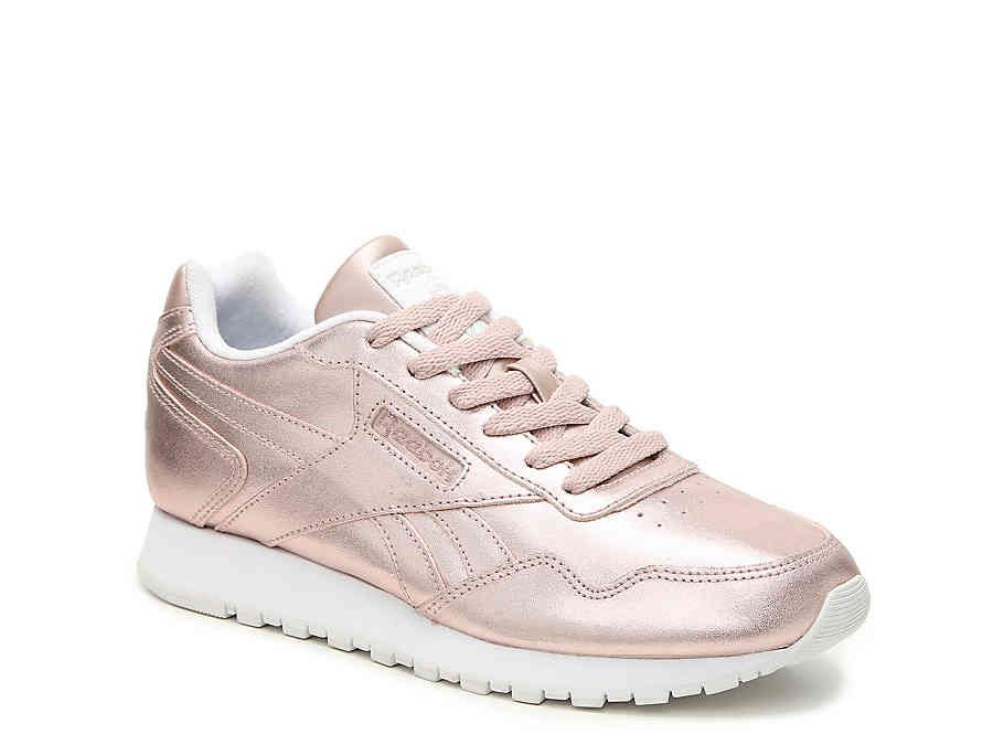 4df4c225a21cf9 Reebok Harman Run Sneaker in Blush Metallic - Women s Women s Shoes ...