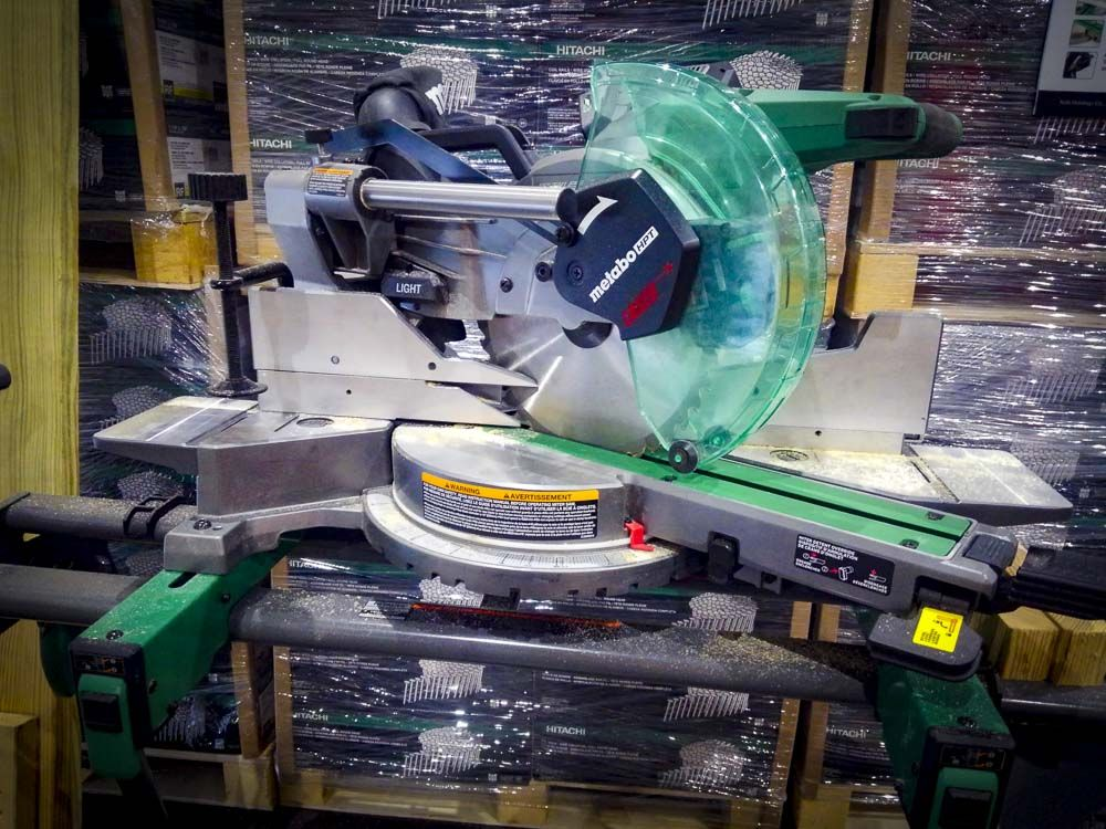 Metabo Hpt Multivolt 10 Inch Miter Saw Corded Or Cordless 10