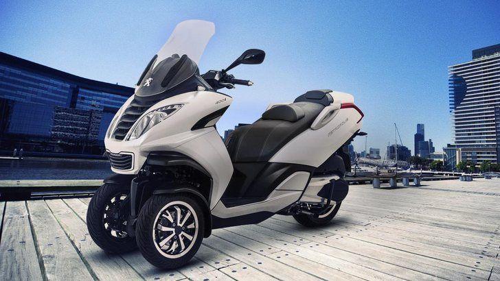 Peugeot Metropolis 3-wheel Scooter