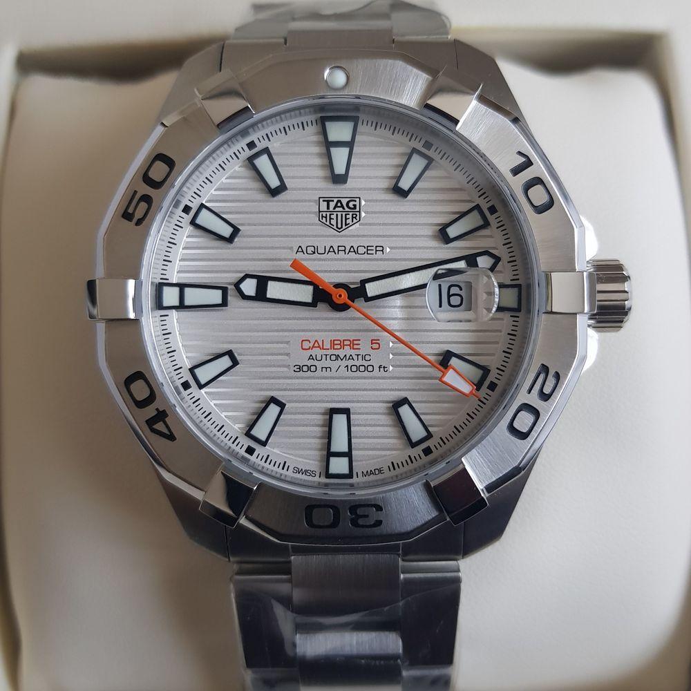 f740aaf216cc Brand New Tag Heuer Aquaracer Calibre 5 Automatic Watch 43mm WAY2013.BA0927