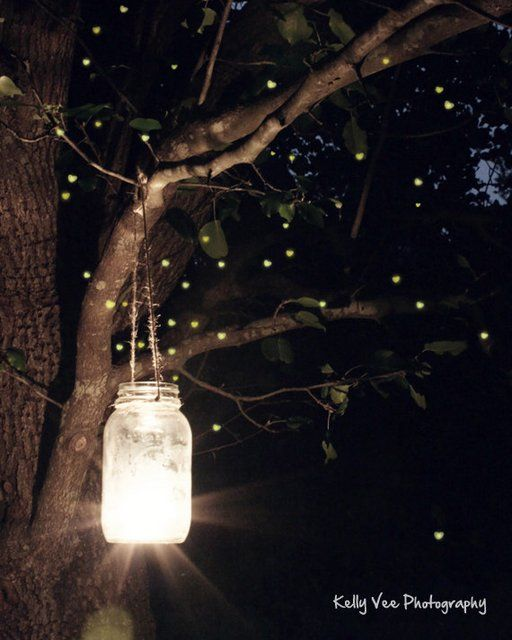 Fairy Night Light Jars