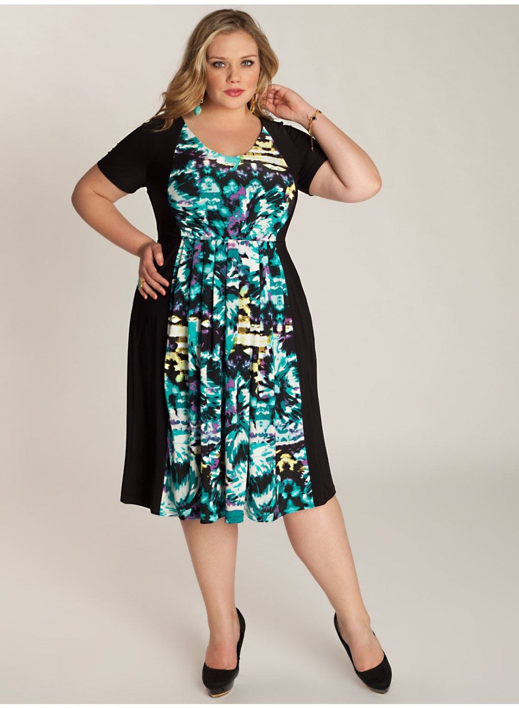 Lily Plus Size Dress - Work Wear Collection by IGIGI | Let\'s play ...