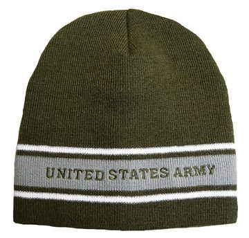 Army Knit Green Watch Cap