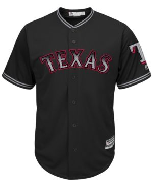 Majestic Men S Texas Rangers Carbon Fiber Cool Base Jersey Black Red Boston Red Sox Jersey Texas Rangers