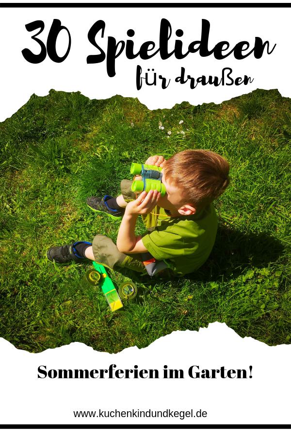 Spielideen Fur Draussen 30 Ideen Fur Den Urlaub Im Garten Kindergeburtstag Spiele Draussen Spielideen Spielideen Fur Kinder