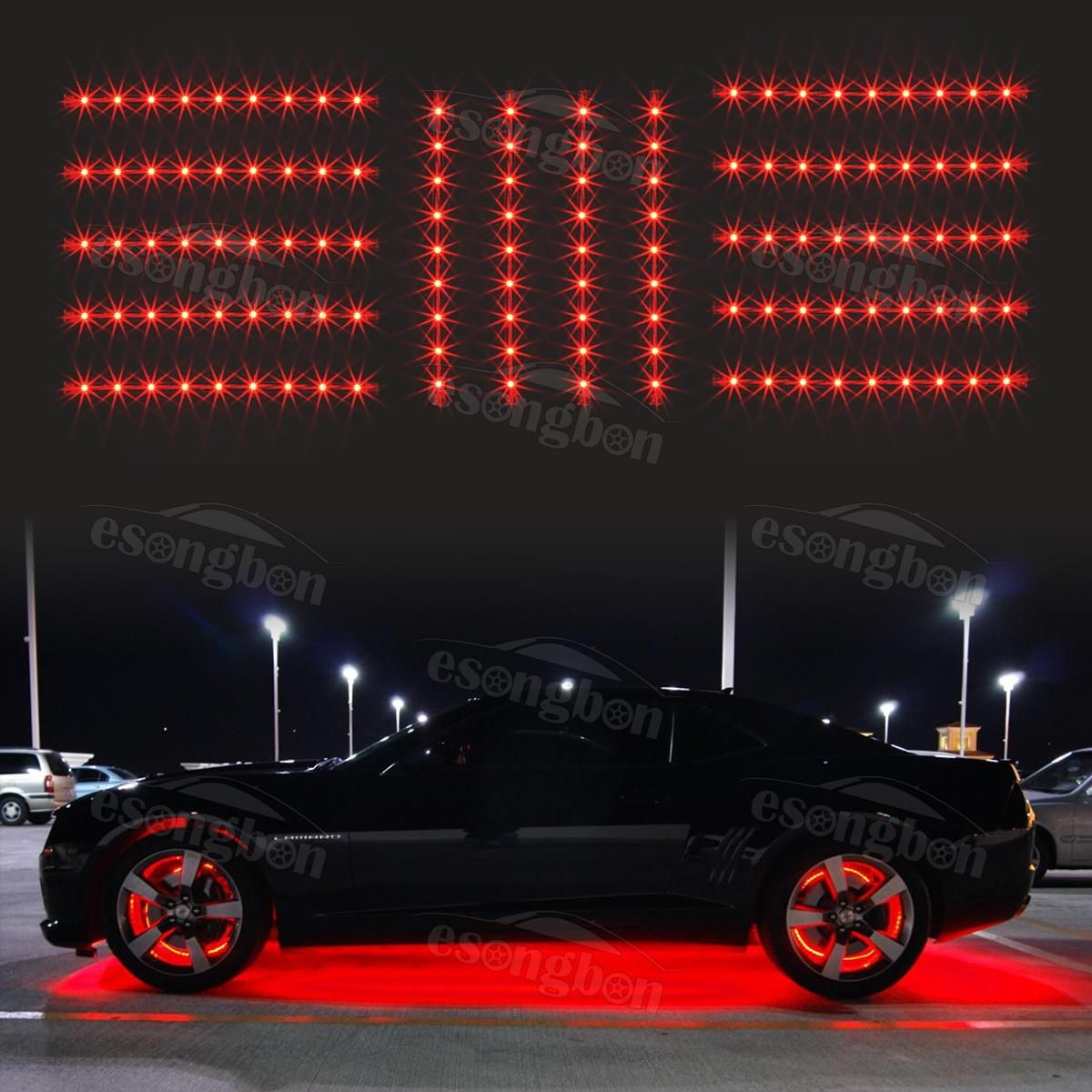 Pin By Vinqueze Nance On Led Light Kits Jeep Lights Red