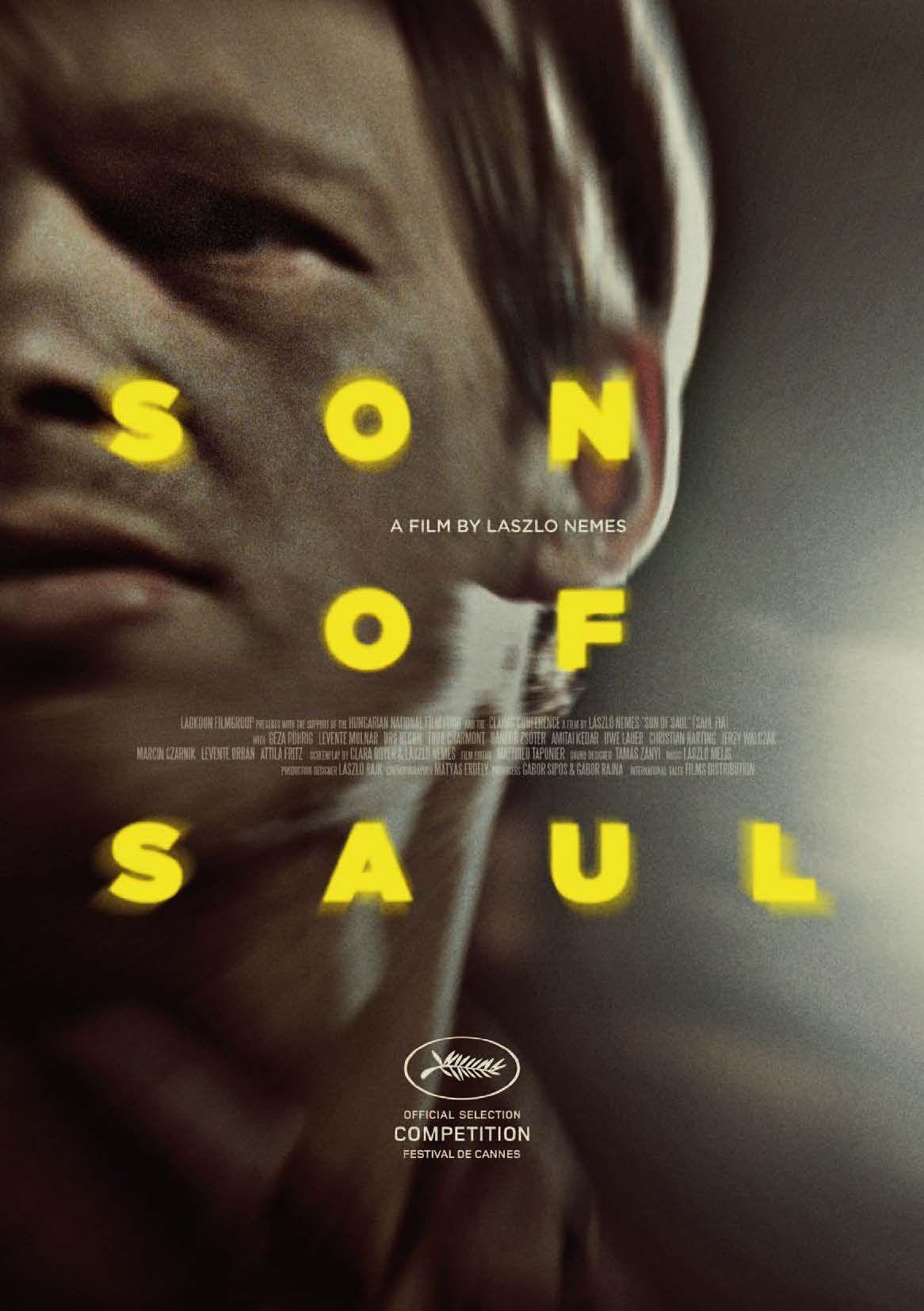 """Filmul regizorului maghiar László Nemes nu este încă o poveste din lagărele morţii, ci este un portret al disperării. Regizorul aduce în prim plan chipul lui Saul, prizonier la Auschwitz, care măcinat de durere, s-a transformat inimaginabil. """"Fiul lui Saul"""" a fost distinst cu Marele Premiu al Juriului şi cu Premiul FIPRESCI la Festivalul Internaţional de Film de la Cannes. A câştigat Globul de Aur la categoria cel mai bun film străin, iar acum este nominalizat la premiile Oscar pentru cel…"""