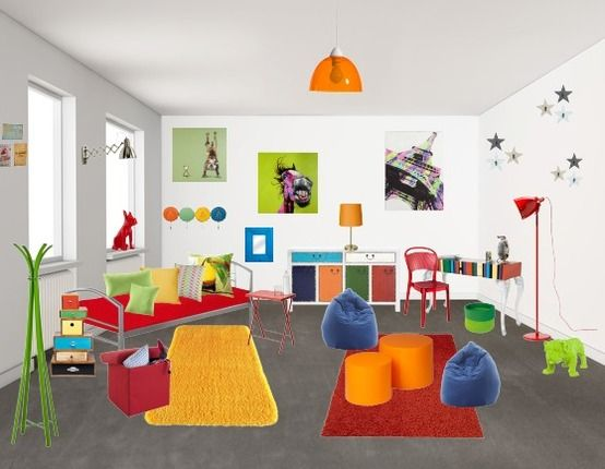 chambre d'enfant - Chambres - stylefruits.fr