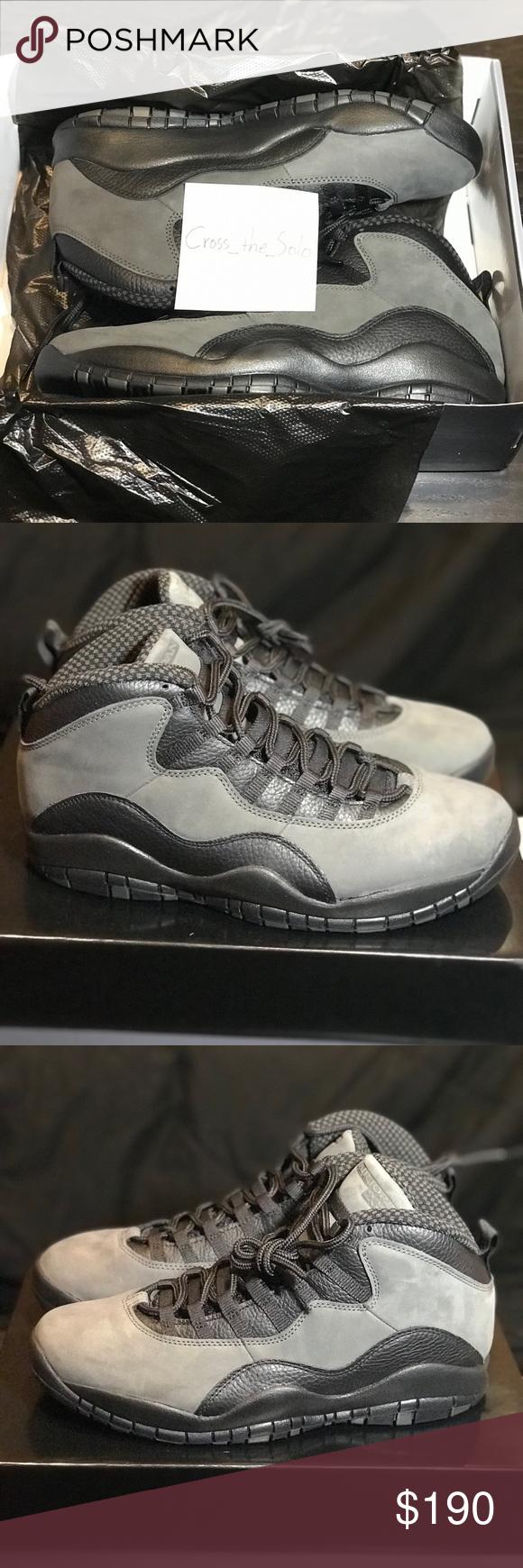 8914392a0b1 New - Air Jordan 10 Dark Shadow - Men's 11 New in box Air Jordan 10 Dark  Shadow/True Red-Black Men's 11 Great basketball shoe or fashion sneaker  Jordan ...