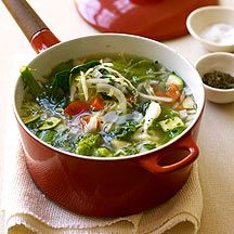 Weight Watchers Vegetable Soup Recipe.  Some say this soup is the secret to their weight-loss success.  Zero Points!