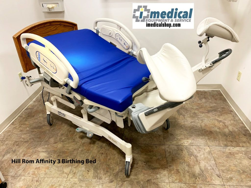 Hill Rom Affinity 3 Birthing Bed (With images) Hospital