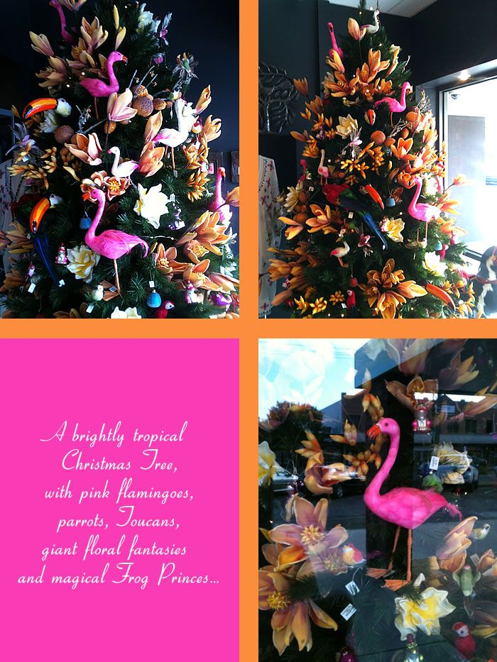 summer+christmas+tree+australia+tropical+theme+pink+flamingojpg