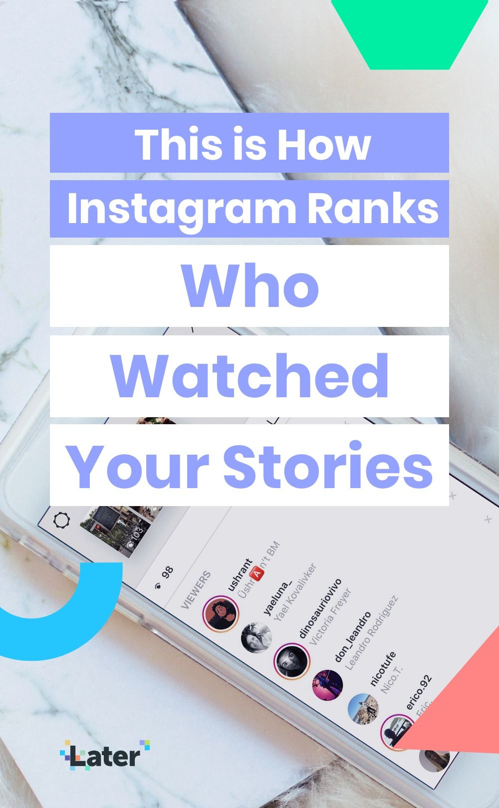 This is How Instagram Ranks Who Watched Your Stories