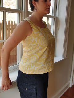 Queen of the Flies: Sorbetto top pattern review and FBA how-to