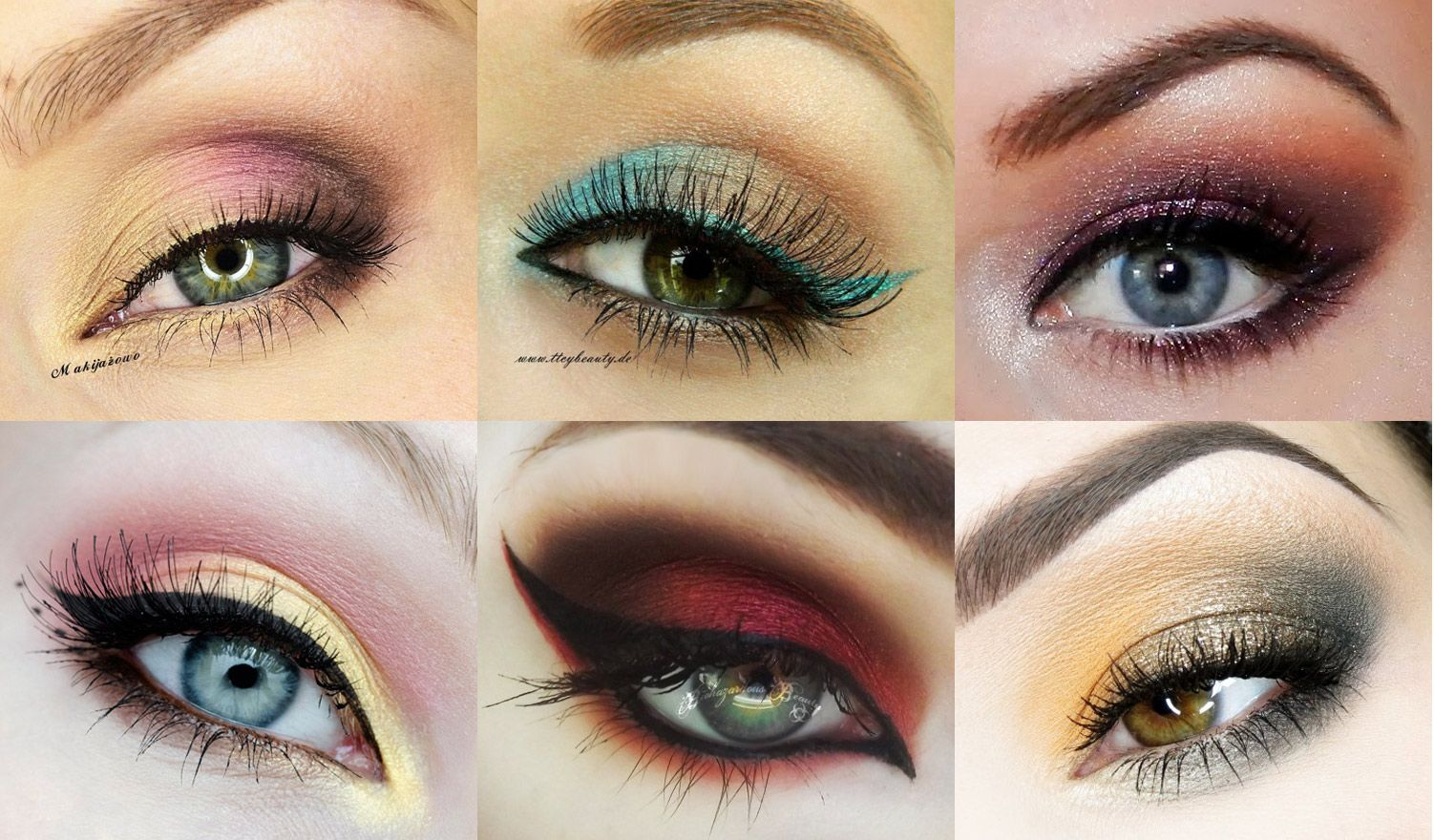 The Best Makeup Geek Idea Gallery Submissions of May 2013 -- see the link fo 20 more looks and tips on how to pull them off!!
