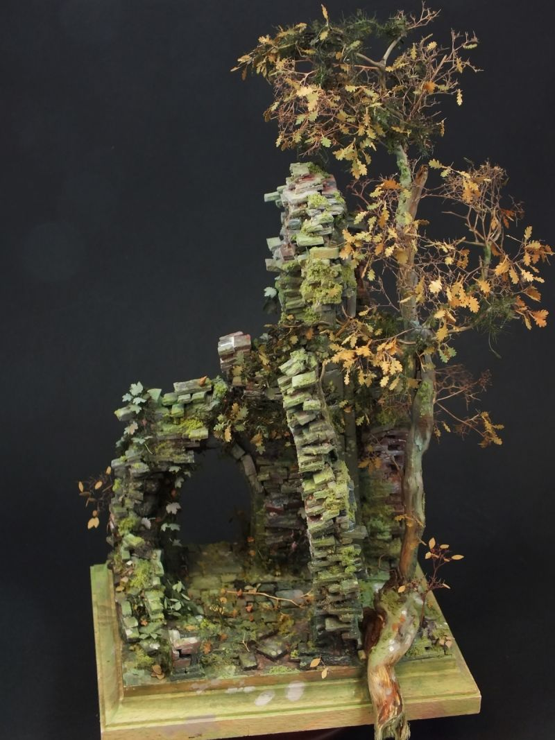 """""""Sound Of Silence"""" 1/55 scale (28mm scale). By Christoph Blumenthal. #diorama"""