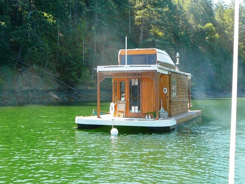 Lovely Small Houseboats | This Is The Sweet Little Houseboat My Sailing Host Lives  In.