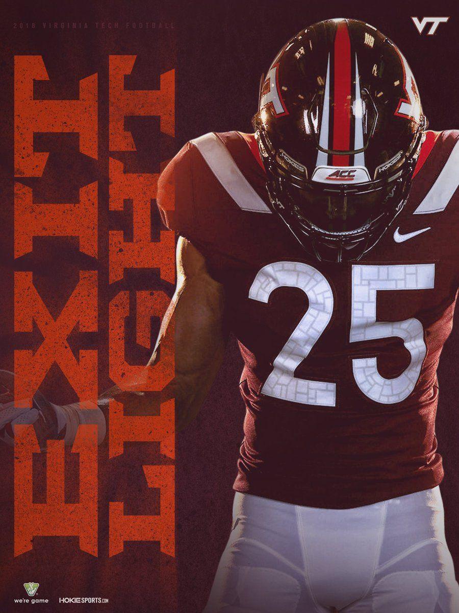 Virginia Tech College Football Graphics Football